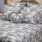 Cocoon Toile Pale Blue Collection